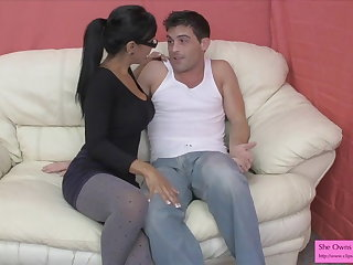 Sex Therapist Affixing 1 Preview Jasmine Shy Assegai Hart Strap On
