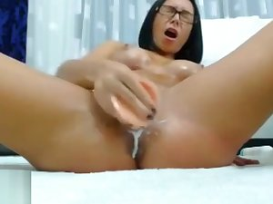 Remarkable Dildo Fuck