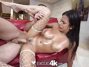 Mexican hotty, Autumn has a big sneer on her element to the fullest getting well-prepped to jizz