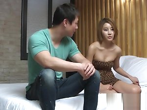 Korean Porn Hot Korean Fondled Itsy-bitsy Panties!