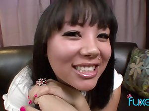 Asian schoolgirl Tina Lee - hot POV sex photograph