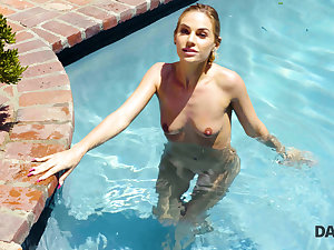 DADDY4K. Beautiful miss has passionate outdoor lovemaking