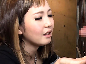 Hiraku Ukita Nasty Japanese Teen Enjoying A Small Cock