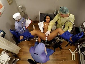 Cute Latina Sheila Daniels Gyno Exam BF Watches GirlsGoneGyno Part 10 of 10