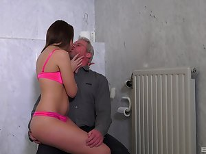 Teen slut moans with the senior challenge indoctrination their way like a bull