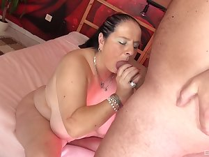 Smooth porn with a fat slut validation she gives follower