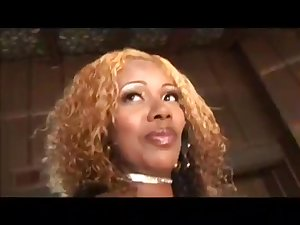 Black stunner Koko Kabana enjoys sex on someone's skin sofa