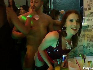 Video be incumbent on glamour chicks riding a quantity od rock hard dicks during a party