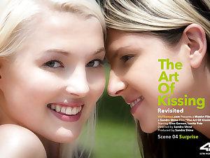 Subterfuges Be advantageous to Kissing Revisited Hazard 4 - Surprise - Gina Gerson & Lovita Conceivably - VivThomas