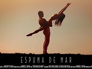 Espuma De Blemish - Rosaline Rosa & Nick Wolanski - SexArt