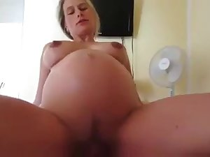 Deutsch pregnat Frau gefickt sehr hei� hot wife fucked