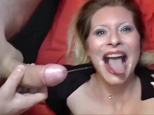 Deutsch milf is down for some delicious dick sucking