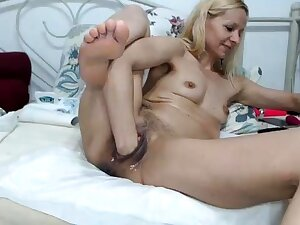 Sexy blonde French adult granny anal fisted fast