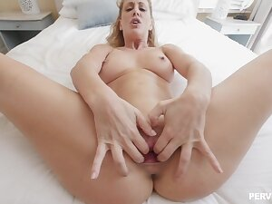 Blue eyed mom needs stiff inches into that premium cunt