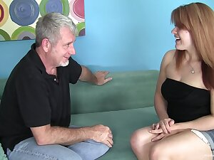 Big redhead amateur wants his paterfamilias cock
