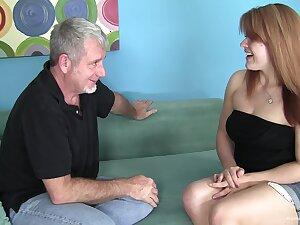 Big redhead amateur wants his paterfamilias cock