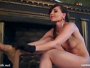 Jeny Smith Panthose Show